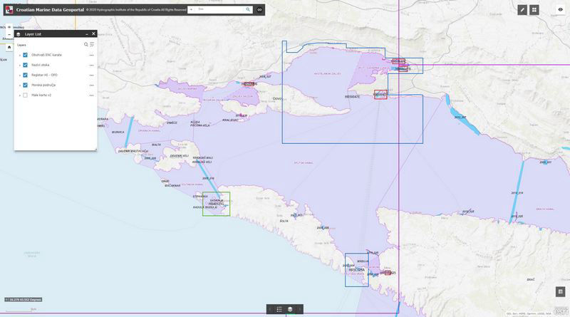 Croatian Marine Data Geoportal